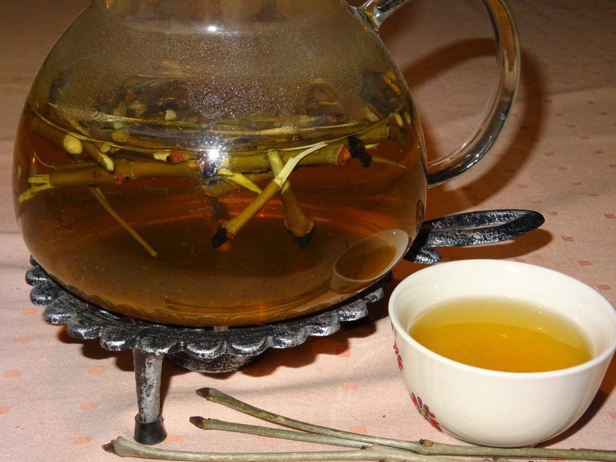 koňak mezi čaji
