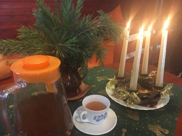 Čaj pro ježíška